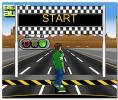 Бен 10 гонки на скейтборде по шоссе Ben10 highway skateboarding