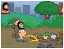Хобо Бездомный Тотальная Война игра драки Бомжа Hobo 4 Total War