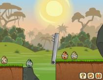 Предотвратить катастрофу часть 3 бить яйца динозавров игра Disaster Will Strike 3