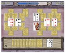 Мания карт три пики делюкс пасьянс игра в карты Card Mania Tri Peaks Deluxe
