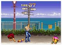 Стрит Файтер Карате Кимоно драки на улице игра Karate Blazers