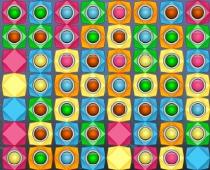 Двойное совпадение камней три в ряд игра Double Match 3