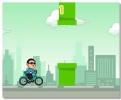 Fappy Psy Пси на Скутере игра аркада с трубами и ездой на велосипеде