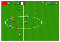 Футбол для одного или двух игроков Боковой удар игра Side Kick 2007