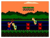 Гангстер Марио стрелялка по мотивам Супер Марио игра Gangster Mario