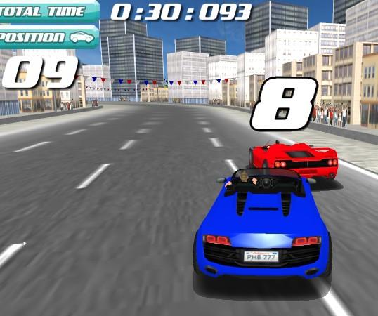 Играть гонки машинах 3 д