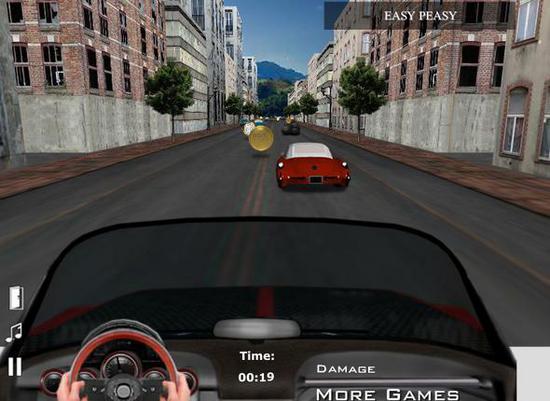 Играть онлайн гонки городе