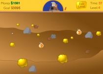 Золотоискатель добывать золото Классический Майнер игра  Gold Miner