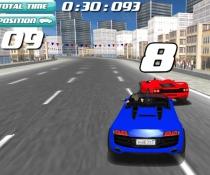 Жара на трассе Дрифт в 3D гонки бить другие машины игра Drift Rush 3D
