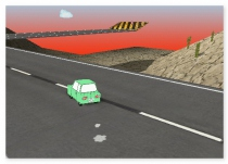 Гонки на Мини машинах трехмерные гонки A Small Car 2