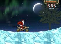 Гонки Деда Мороза на мотоцикле игра Santa Rider 2