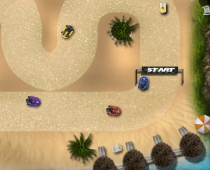 Тропические гонки на картах мини машинки Tropical Karting