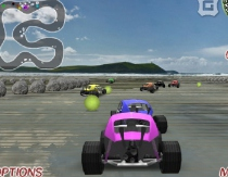 3D гонки на машинках багги трехмерные гонки игра 3D Buggy Racing