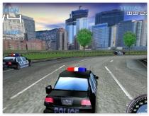 Гонщик Полицейский гонки вождение машины Police Test Driver