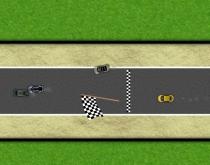 Горячая гонка гоняться на мини машинках кольцевая трасса игра Hot Race