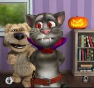 Говорящий кот Том Хэллоуин Talking Tom Halloween