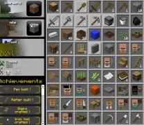 По мотивам Майн Крафт квест собирай капай защищай игра Grind Craft