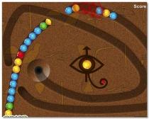 Зума Heru Египет Люксор игра с шарами три в ряд