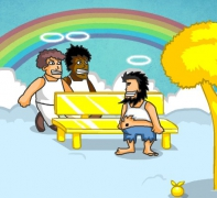 Хобо Бездомный на Небесах Бомж Гром в Раю драки игра Hobo 7 Heaven
