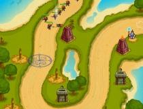 Хранитель четырех элементов защита башнями игра The Keeper of 4 Elements
