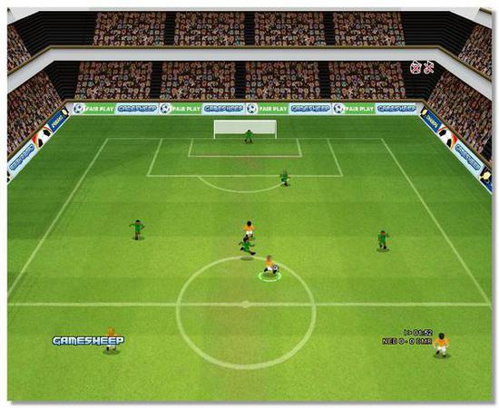 В мини футбол играть бесплатно