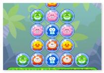 Звери в Пузырях головоломка лопать шарики три в ряд Bubble Pet