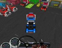Лицензия водителя дальнобойщика большие грузовики игра 18 Wheeler 3D