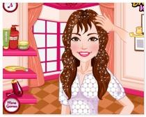 Стилист Силены Гомес игра уход за волосами Selena Gomez Inspired Hairstyles