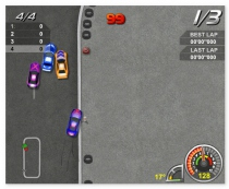 Король Дрифта гонки игра кольцевые гонки с поворотами King of Drift