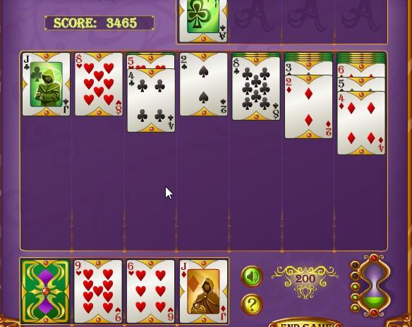 Онлайн в три играть играть косынка в карты карты