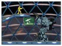 Команда Истребителей Инопланетян стрелялка игра Alien Attack Team 2