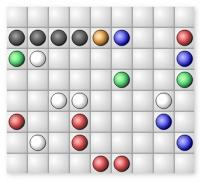Экстра Линии пять в ряд головоломка шарики Extra Lines