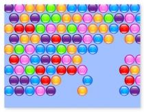 Выстрел по пузырям лопать цветные шарики игра Bubble Hit