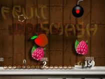 Взрывая фрукты игра на меткость Лопай Фрукты на кухне Fruit Smash
