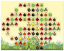 Маджонг Ангри Берс Злые Птички коннект найди пару Angry Birds Connect