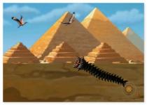 Нападение Гигантского Червя игра ужастик Death Worm