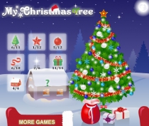 Моя Новогодняя Ёлочка украшать ёлку игра My Christmas Tree