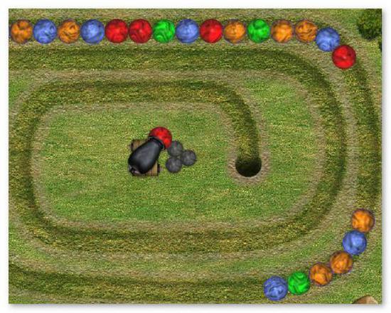 Игру Шарики Zuma