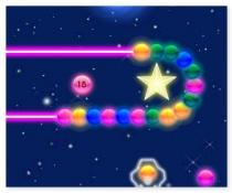 Зума Пинбол Неоновый Пинбол игра три в ряд шарики Neon Pinball
