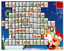 Новогодний Маджонг 2015 коннект найди пару Christmas Mahjong
