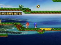 Ёж Сонник и Ехидна Наклз в мире Огня и Воды игра на двоих Sonic Knuckles 2 player
