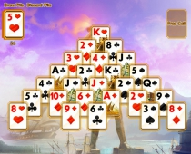 Пасьянс Семь Чудес Света чудеса древности в картах современности Ancient Wonders Solitaire