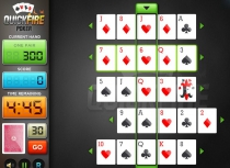 Пасьянс Быстрый огненный покер составление комбинация Quick Fire Poker