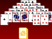 Пасьянс Пирамида 13 в сумме убрать все карты с доски игра Pyramid Solitaire