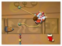 Перережь веревку Деда Мороза игра Подарки на Новый Год Christmas Gifts