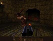 Квейк стрелялка шутер от первого лица квака игра дрожь Quake Flash 1