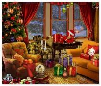Рождественская Звезда поиск спрятанных вещей игра Christmas Star