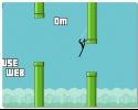 Человек паук лучше чем птичка Флаппи Spider Man is better than flappy bird 3 через трубы