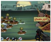 Стрелять по зомби пиратам игра стрелялка Zombudoy 3 Pirates