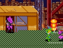 Черепашки Ниндзя четыре драки бродилка Teenage Mutant Ninja Turtles IV